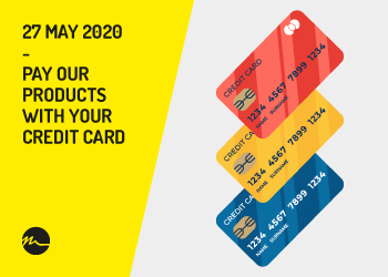 Pay with your credit card 2020