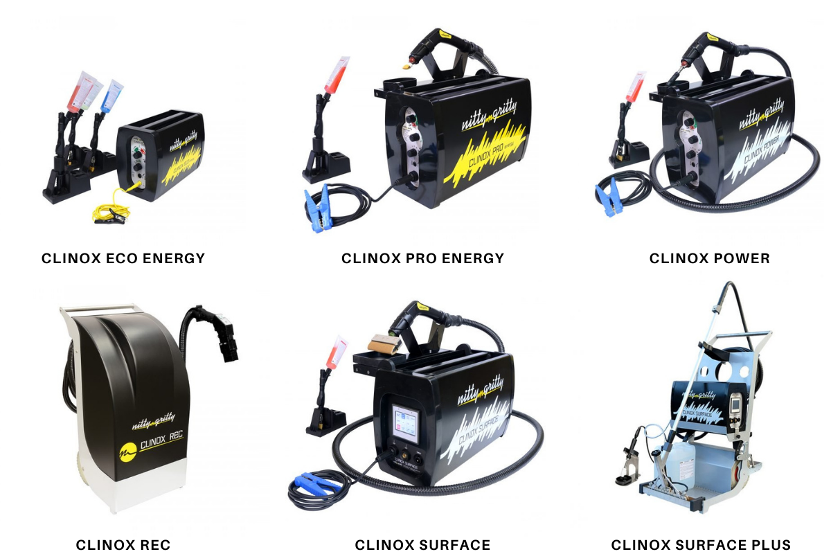 Weld cleaning machines free demo - Nitty-Gritty